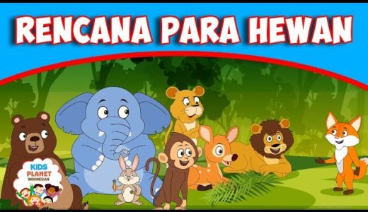 寓話でインドネシア語 Vol.3 Rencana Para Hewan(動物たちの計画)