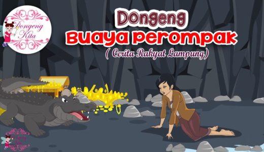 寓話でインドネシア語 Vol.7 Buaya Perompak (Cerita Daerah Lampung) 海賊ワニ(ランプン地域の物語)