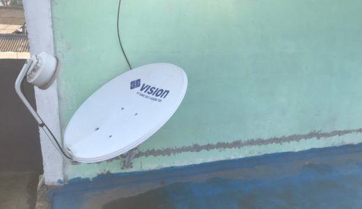 Hari ke-94 Bongkar antena TV kabel