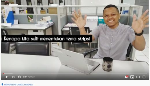 Hari ke-99 Buat video lagi untuk channel YouTube tempat kerja