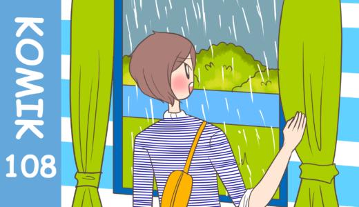 【Komiknya Ke-108】Hujan adalah barkah untuk kita(雨は我々にとっての天の恵み)