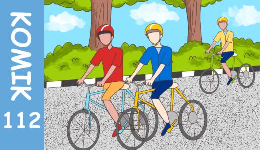 【Komiknya Ke-112】Bersepeda sedang tren di Indonesia