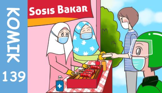 【Komiknya Ke-139】Dampak Besar Akibat Pandemic(パンデミックの大きな影響)