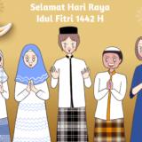 【Komiknya Ke-151】Selamat Hari Raya Idul Fitri 1442 Hijiriah(イドゥル・フィトリおめでとう!)