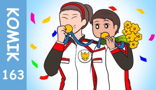 【Komiknya Ke-163】Pertandingan Olimpiade Tokyo 2020!(2020年東京オリンピック)