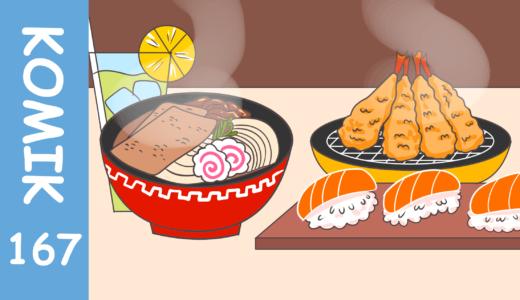 【Komiknya Ke-167】Restoran Jepang Viral di Tiktok(ティックトックでバズった日本レストラン)