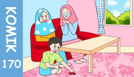 【Komiknya Ke-170】Dasar Anak Bandel(全く…反抗的な子だね)