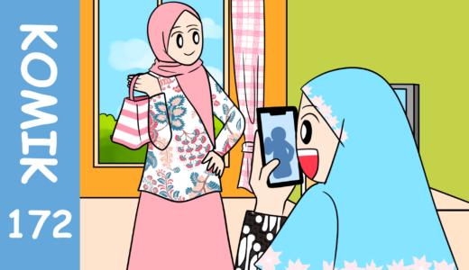 【Komiknya Ke-172】Ikut Kompetisi Batik!(バティックコンテストに参加!)